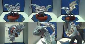 $COM Mei Feng Sculpture:: Fully Completed by Neffertity