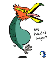 VG Bosses 10: Pileated Snagret by greliz