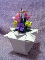 Origami Flowers by mrinx