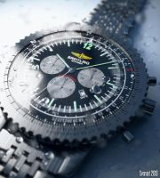Breitling watch by svenart