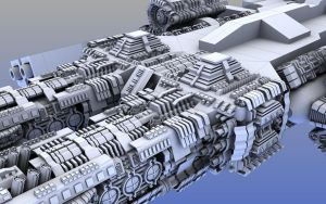 Greeble Clayrender by Xels034