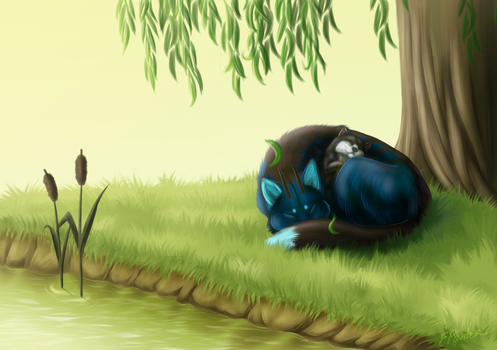 Day dreaming (comm) by ElenPanter