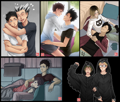 Haikyuu!! - request batch 3 by zero0810