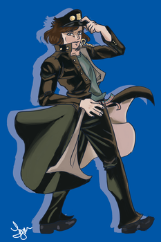 Jotaro Mejo by comical-lobster
