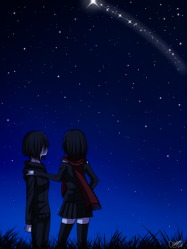 Under the Starry Sky by CNeko-chan