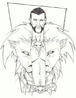 sketchy : Kraven by KidNotorious