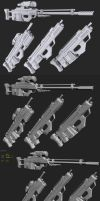all assault rifle custom mods by Pirosan