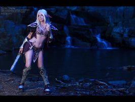 Nightelf Wallpaper by YurikoSeira