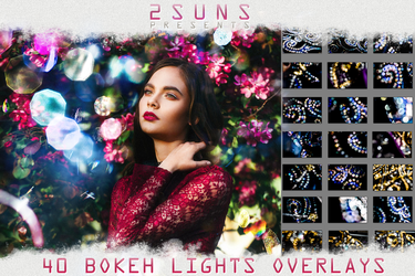 40 Bokeh Photo Overlays textures by 2SUNS1