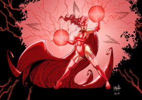 Scarlet Witch - Colors by Rexbegonia