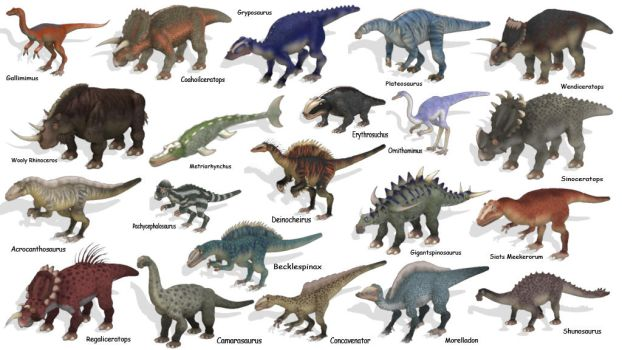 Even more spore dinosaurs. by Carnosaur