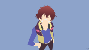 Nice (Hamatora) by greenmapple17