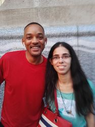 With Will Smith by Saphiriel