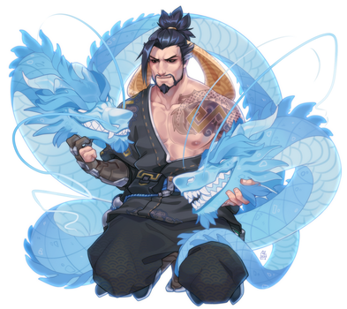 Hanzo by MLarty