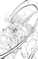 Marvel Riot Cover Fantastic Four By Roger Cruz by RodTsumura