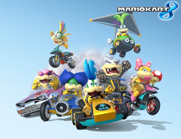 Mario Kart 8 - Here comes the Koopalings! by Legend-tony980