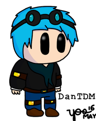 Riddle School Style DanTDM by TheDrawingSheep