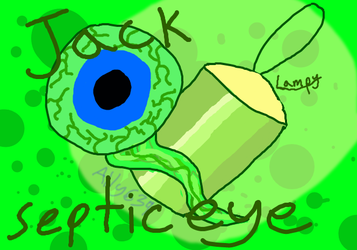 Jacksepticeye (Septiceye and Lampy) by Ally639