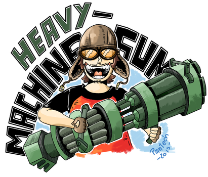 HEAVY MACHINE GUN! by DonPanteon