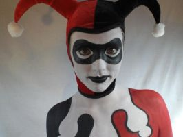 Harley Quinn Body Paint by JWBeyond