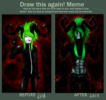 Draw This Again Meme #2 by PaintedKorpse