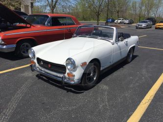 MG Midget by iannathedriveress