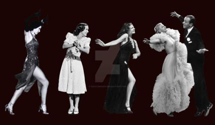 Fred Astaire's Leading Ladies by NicoleMoody