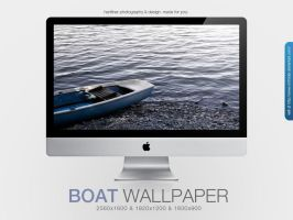 Boat Wallpaper by MrFolder