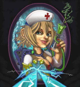 Nursegnome  with Heartburner4000x by Kmany