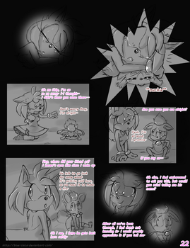 Meeting the Werehog pg. 22 by Mitzy-Chan