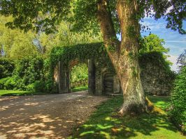 Shady Gate by supersnappz16