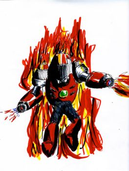 Magma Man by Mariolord07