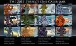 The 12 Perfect Onis by Chronorin