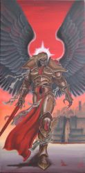 Sanguinius - Primarch of the Blood Angels by Pitcube