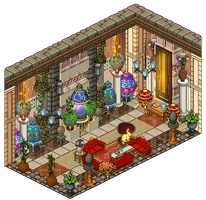 Mansion - Eggs collection room by Cutiezor