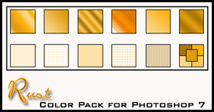 Rust Color Pack by redbonniekidd