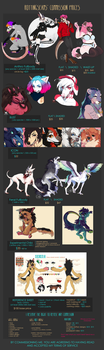 commission prices 2018 - CLOSED 6/18/18 by rottingseams