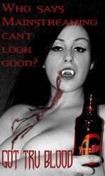 Tru Blood Vampire Ad 07 by MSundinPhotography