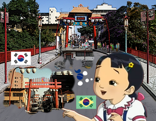 Korean thinks of a Koreatown in Brazil, bcus.. by Kottylingual