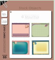 Object pack - Cutie Cards by iMouritsa