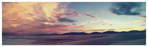 White Sands Sunset by sgraves