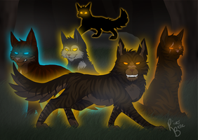 Welcome to the Dark Forest -2015 Remake- by RiverBelle