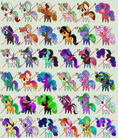 [Open] Huge Chibi Pony Adopt Batch by RaynAdopts