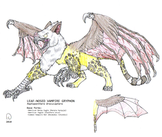 The Vampire Griffin by FawkesTheSkarmory