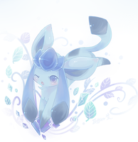 glaceon...