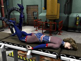 Meanwhile, Madame America is being prepared... by MollyFootman