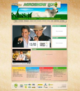 Agroshow 2010 Website by hiharry