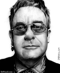 Elton John by Doctor-Pencil