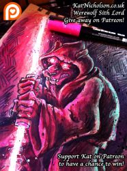 Revenge of the Werwolf Sith Give-away! by KatCardy