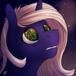 The universe in the eyes [finished YCH] by YaruGreat